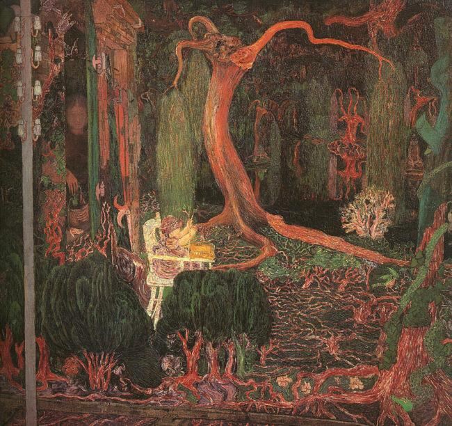 Jan Toorop Desire and Gratification(The Appeasing) oil painting image
