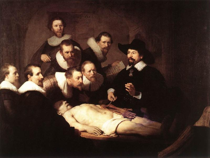 REMBRANDT Harmenszoon van Rijn The Anatomy Lecture of Dr. Nicolaes Tulp SE oil painting image