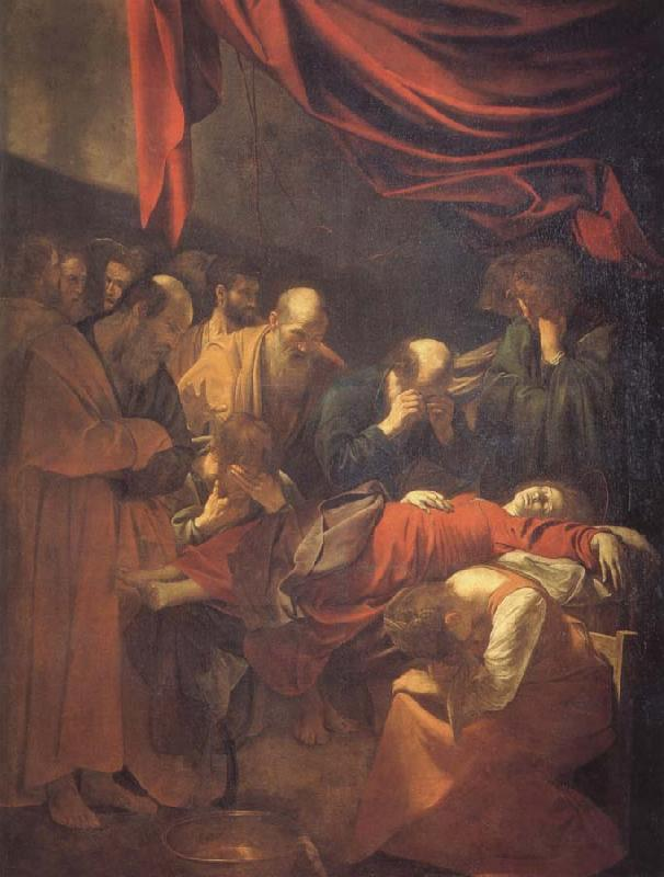 Caravaggio the death of the virgin oil painting picture