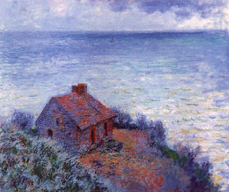 Claude Monet The Coustom s House oil painting picture