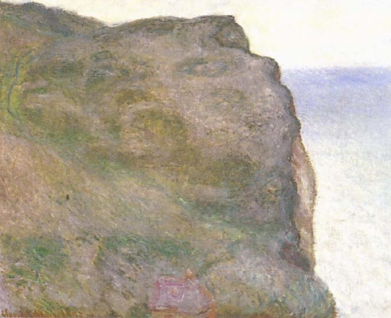 Claude Monet The Pointe du Petit Ailly in Grey Weather oil painting picture
