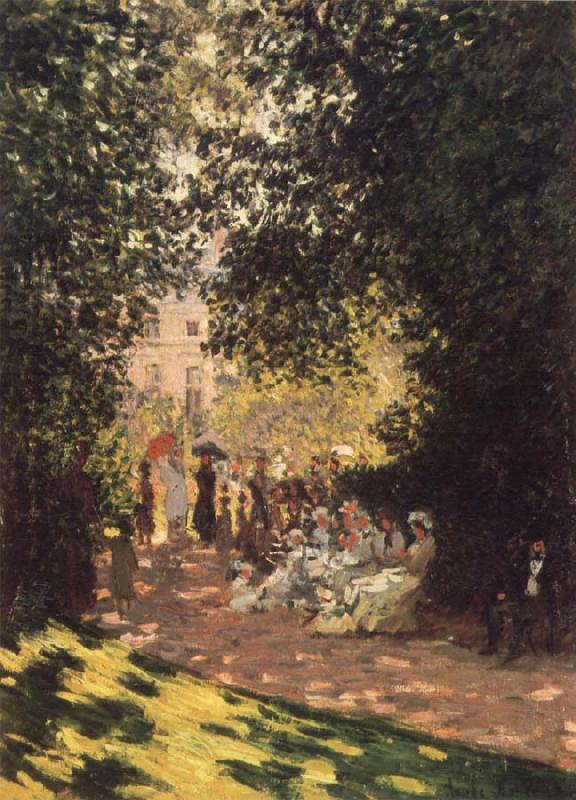 Claude Monet Le Parc Monceau oil painting picture