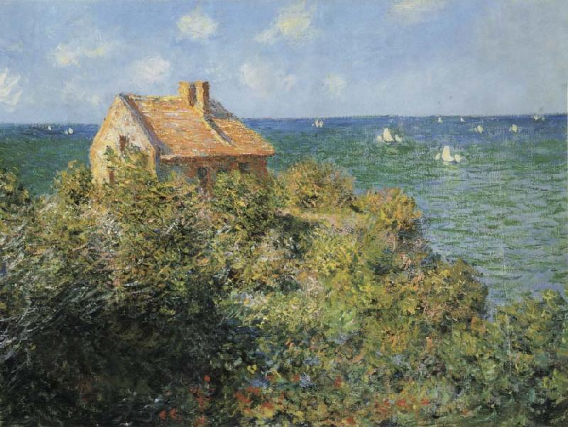 Claude Monet The Fisherman s House at Varengeville oil painting picture