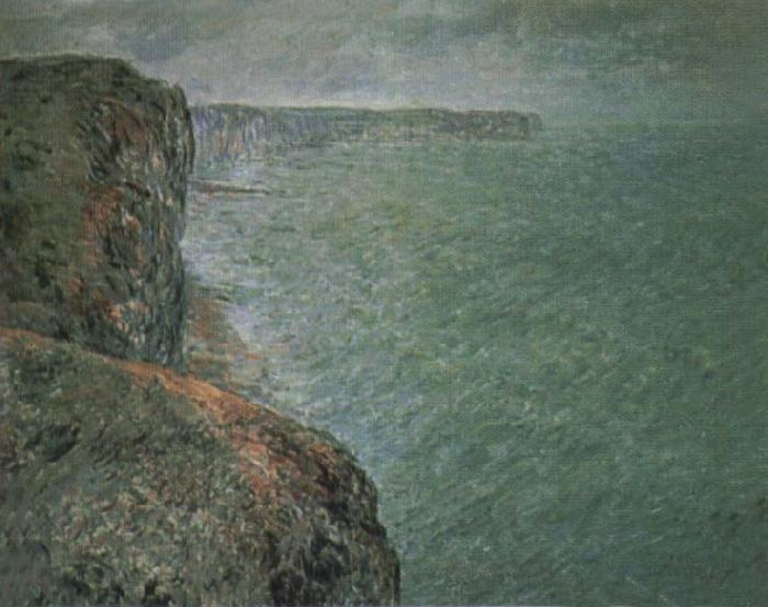 Claude Monet The Sea Seen from the Cliffs oil painting picture
