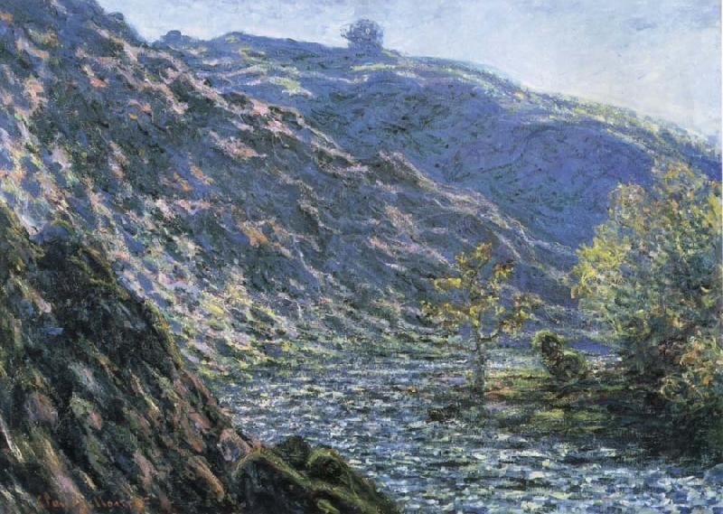 Claude Monet Torrent,Creuse oil painting picture