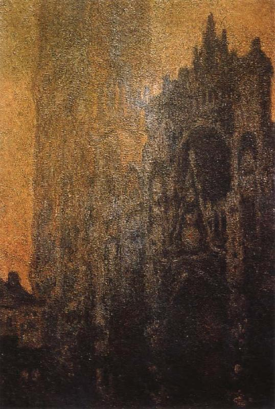 Claude Monet The Portal and the Tour d Albane at Dawn oil painting picture