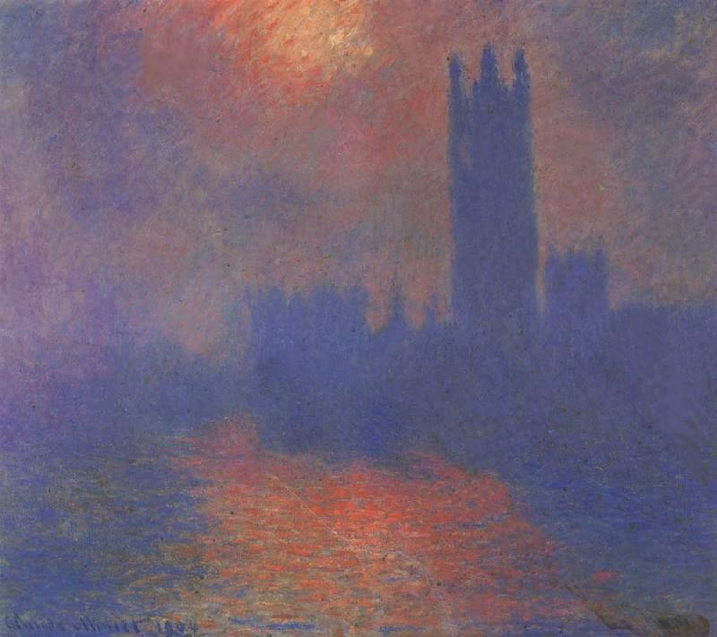 Claude Monet London,Parliament oil painting picture