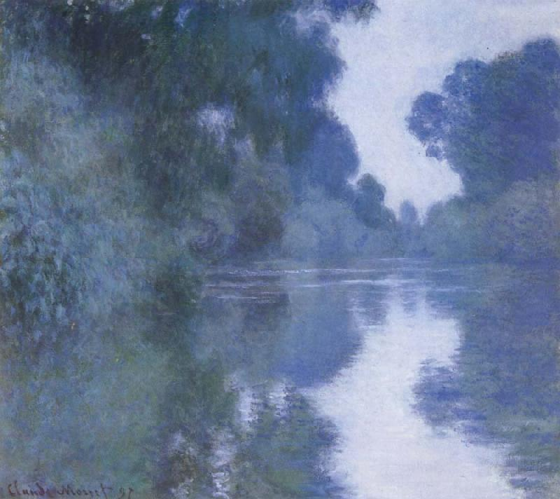 Claude Monet Arm of the Seine near Giverny oil painting picture