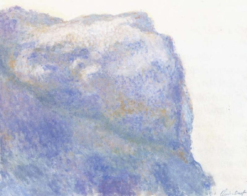 Claude Monet On the Cliff at Le Petit Ailly oil painting picture