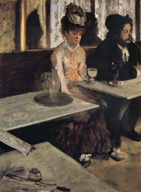 Edgar Degas L-Absintbe oil painting picture