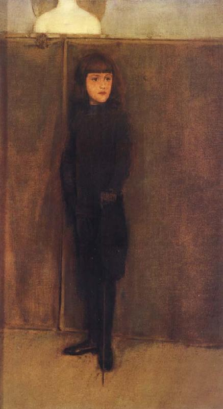 Fernand Khnopff Portrait of Jules Philippson oil painting picture