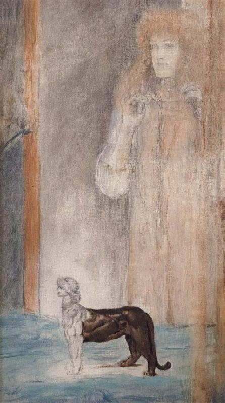 Fernand Khnopff Chimera oil painting picture