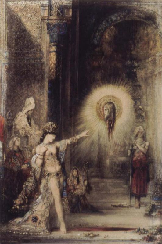 Gustave Moreau The Apparition oil painting picture