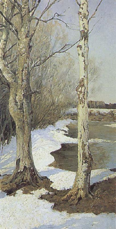 Ilya Ostroukhov Early Spring oil painting picture