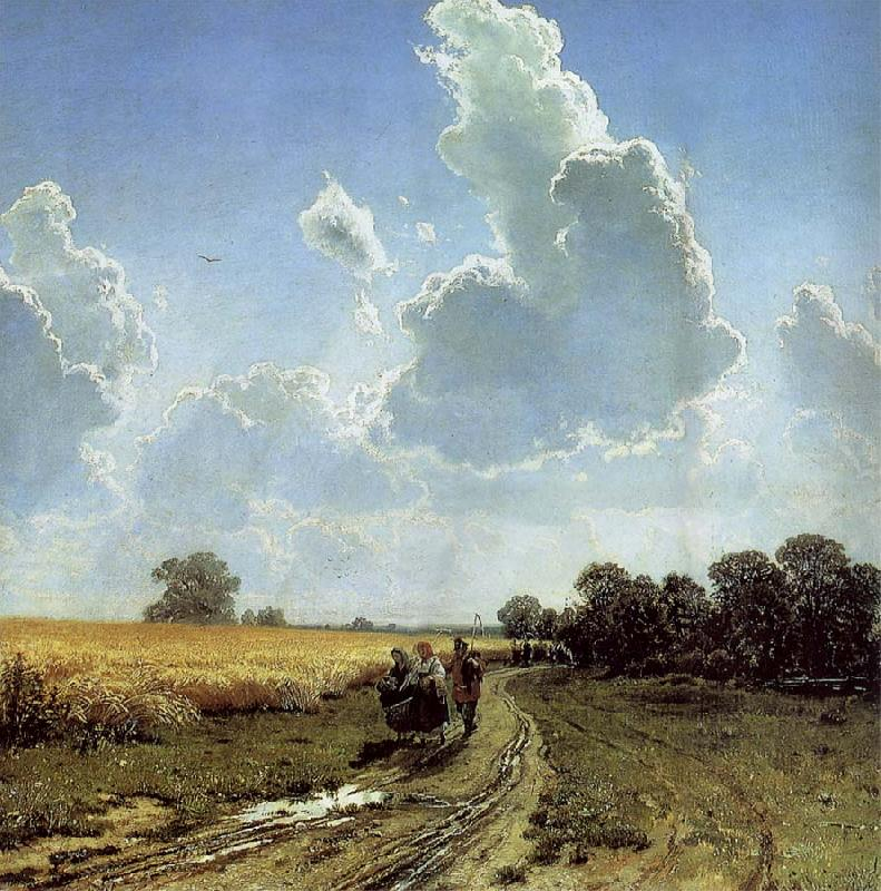 Ivan Shishkin Midday in the Environs of Moscow oil painting picture