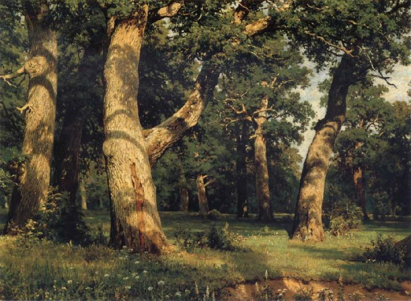 Ivan Shishkin Oak of the Forest oil painting image