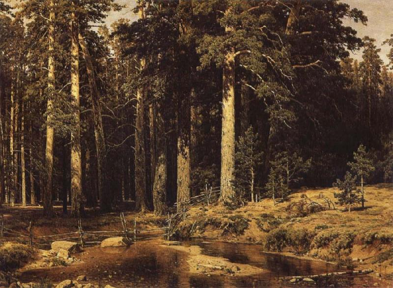 Ivan Shishkin Mast-Tree Grove oil painting picture