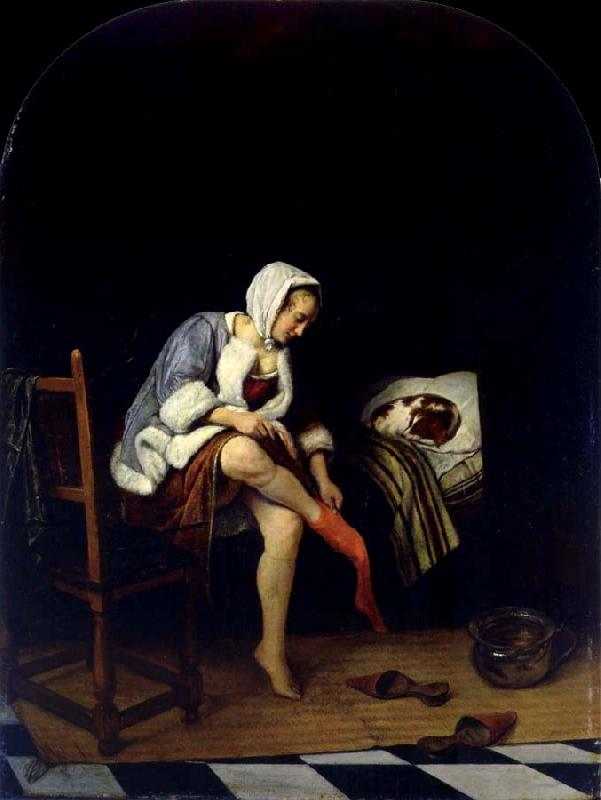 Jan Steen The Toilet oil painting picture