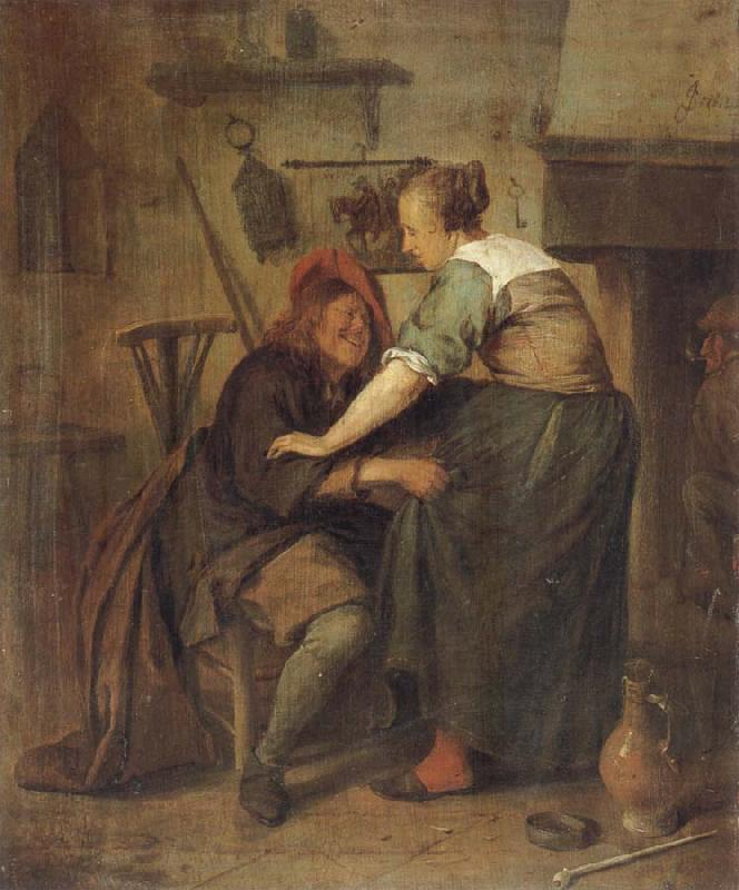 Jan Steen The Indiscreet inn guest oil painting picture