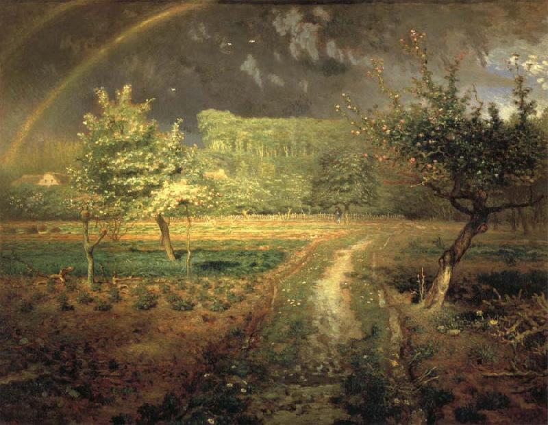 Jean Francois Millet Spring oil painting picture