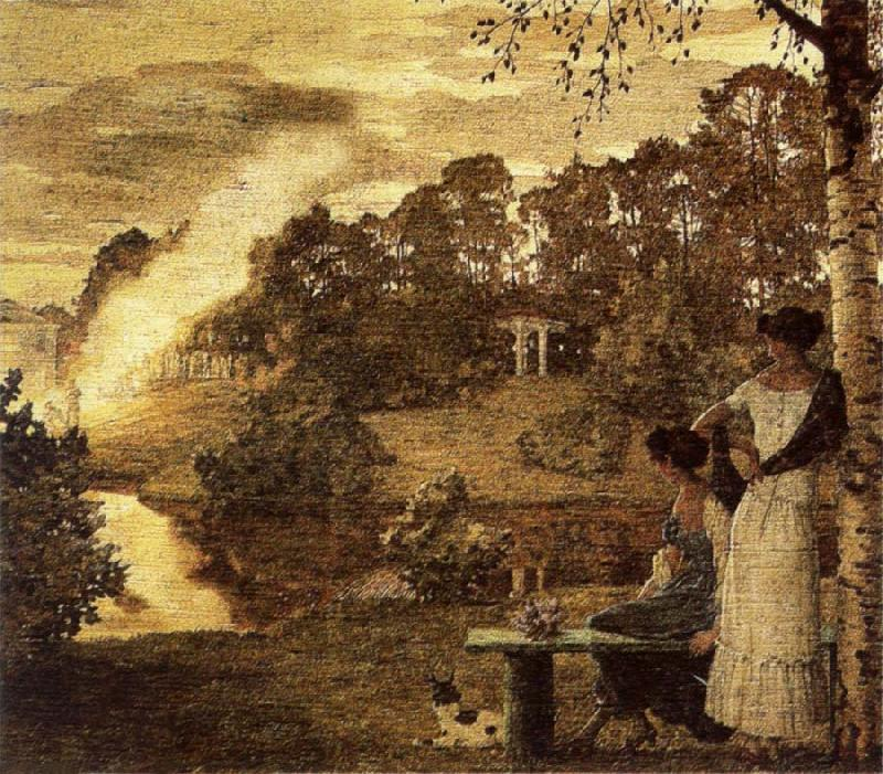 Konstantin Somov Firework Display oil painting picture