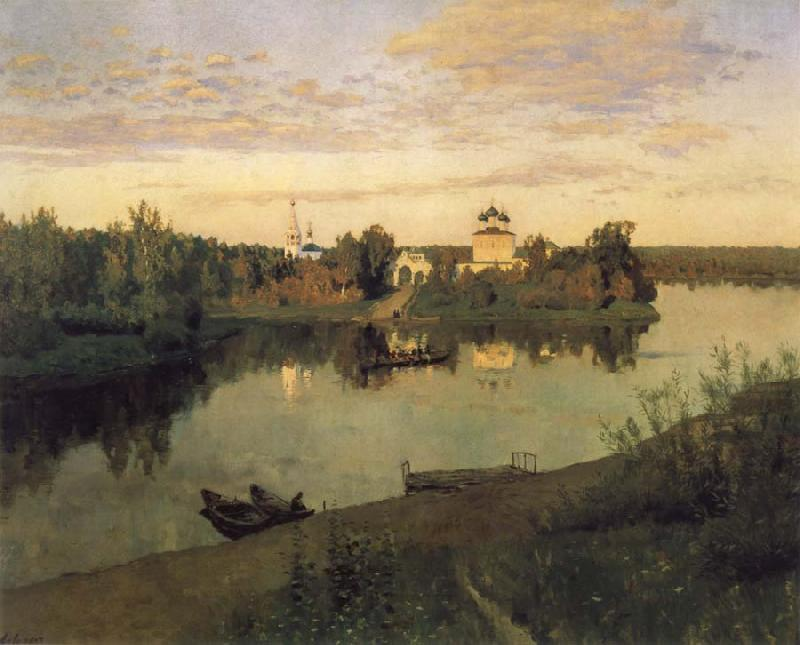 Levitan, Isaak Curfew oil painting picture