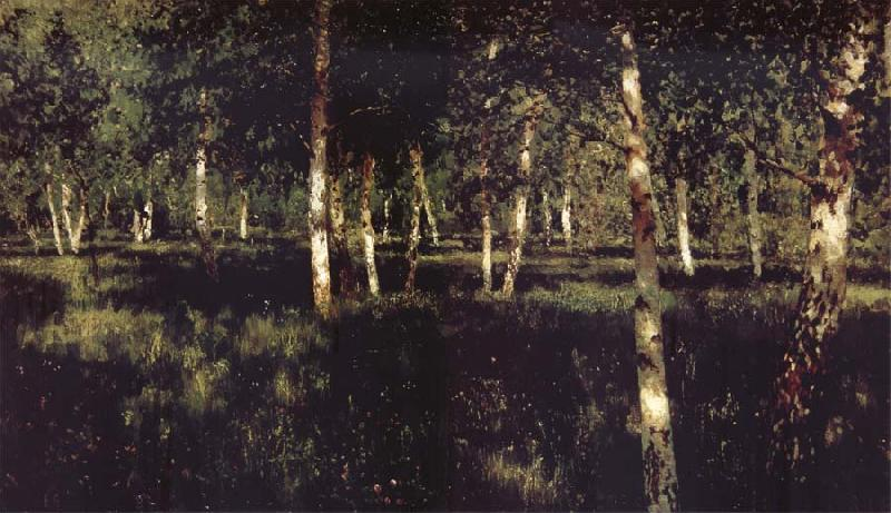 Levitan, Isaak Silver birch oil painting picture