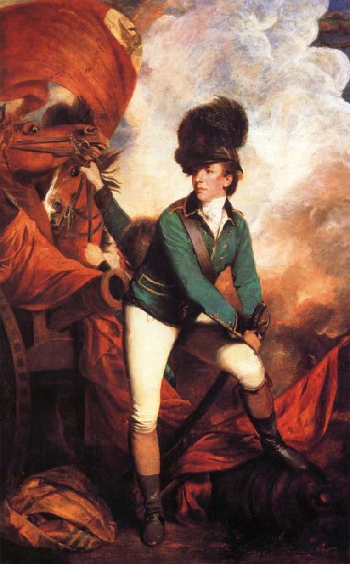 REYNOLDS, Sir Joshua Lieutenant-Colonel Banastre Tarleton oil painting picture