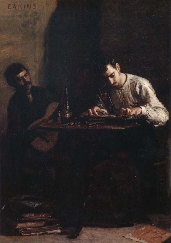 Thomas Eakins Characteristic of Performance oil painting image