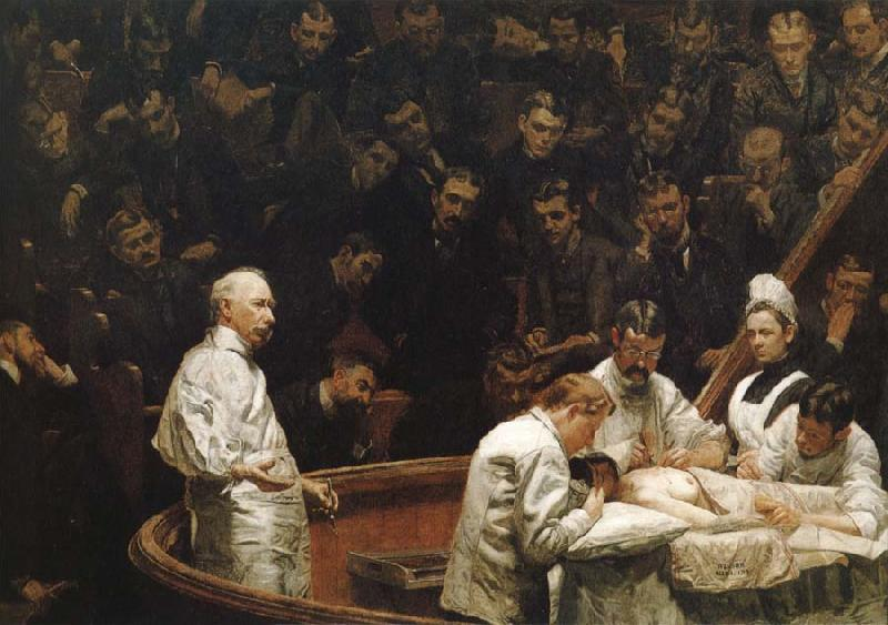 Thomas Eakins Hayes Agnew Operation Clinical oil painting image
