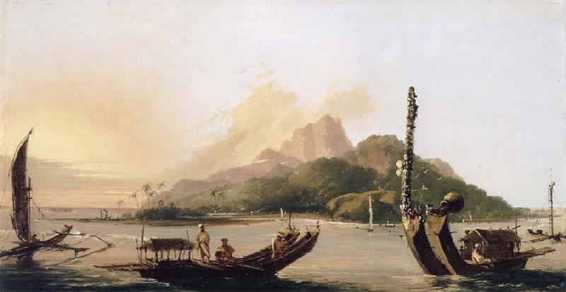 unknow artist Tahiti,bearing South East oil painting image