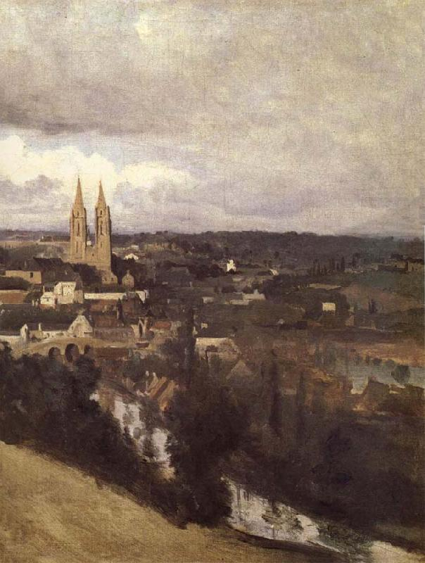 Corot Camille View of Saint-It oil painting image