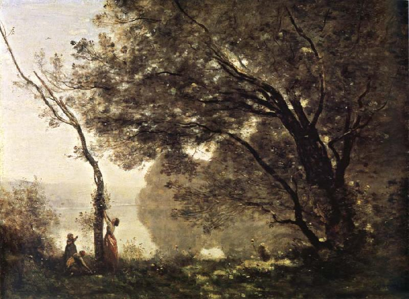 Corot Camille I remember of Mortefontaine oil painting image