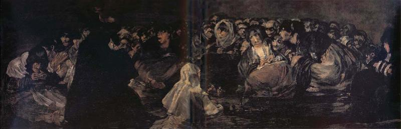 Francisco Goya Witche-Sabbath oil painting image