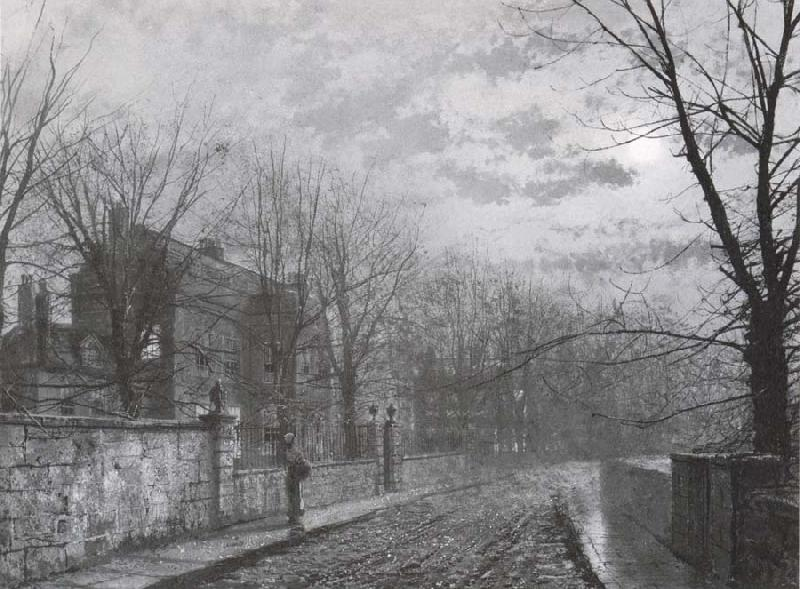 Atkinson Grimshaw St Anne-s Lane,Headingley oil painting image