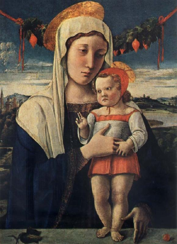 Gentile Bellini Madonna and child oil painting image
