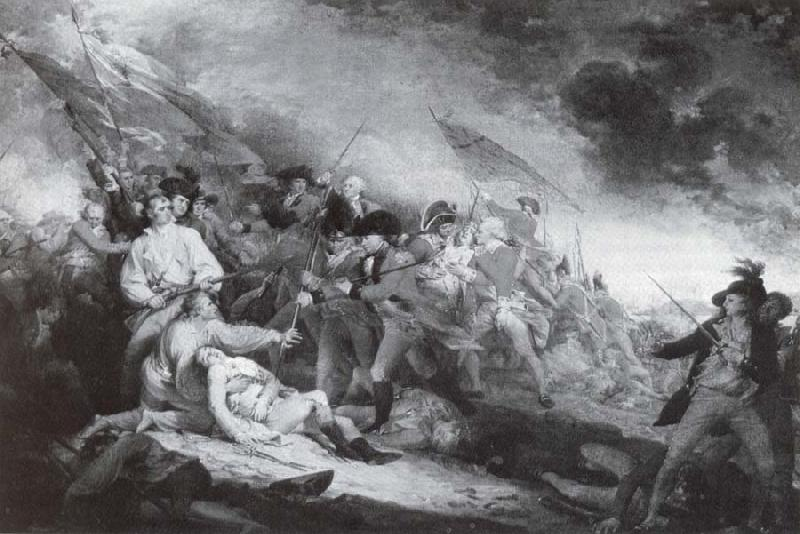 John Trumbull Tod des General Warren in der Schlach von Bunker-s Hill oil painting image