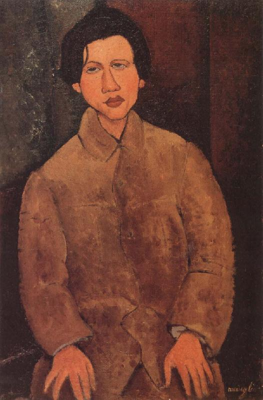 Amedeo Modigliani Portrait of Chaim Souting oil painting image
