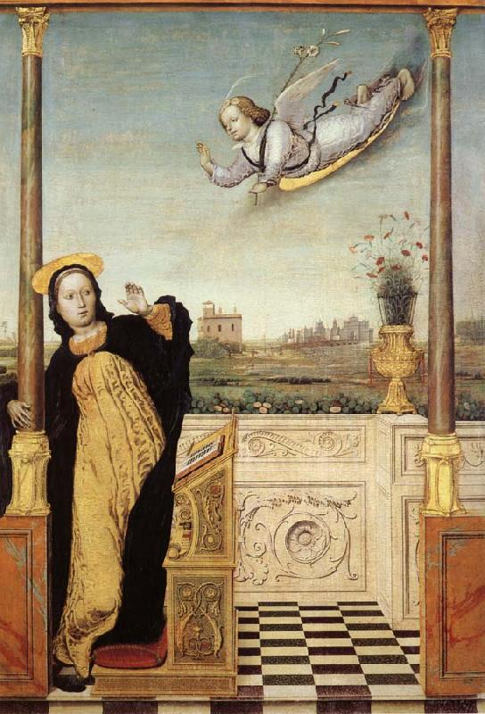 Carlo di Braccesco The Annunciation oil painting image