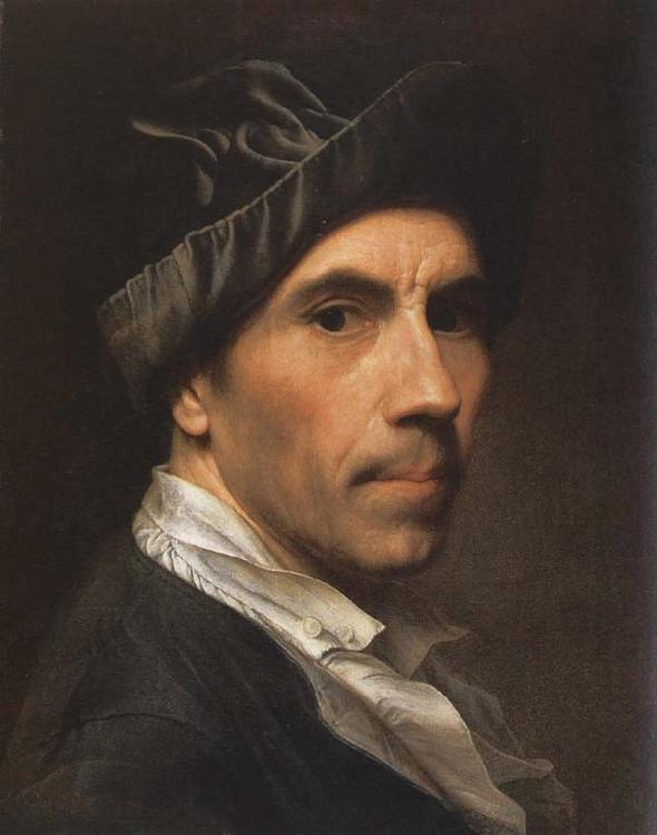 Christian Seybold Self-Portrait oil painting image