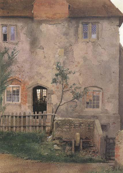 Edward Henry Fahey,RI Old Farm House (mk46) oil painting image