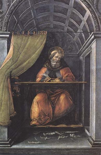 Sandro Botticelli St Augustine in his Study oil painting image
