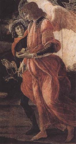 Sandro Botticelli Trinity with Mary Magdalene,St john the Baptist,Tobias and the Angel oil painting image