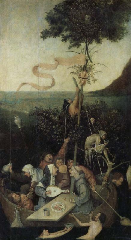 Hieronymus Bosch Ship of Fools oil painting image