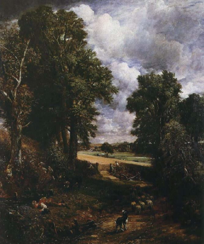 John Constable sadesfalrer oil painting picture