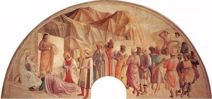 Benozzo Gozzoli Adoration of the Magi oil painting image