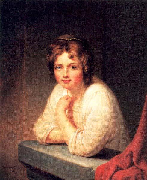 Rembrandt Peale Girl at a Window oil painting image