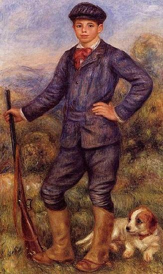 Pierre-Auguste Renoir Portrait of Jean Renoir as a hunter oil painting image
