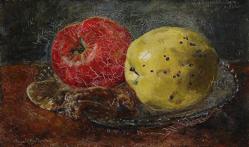 Anna Munthe-Norstedt Still Life with Apples oil painting image