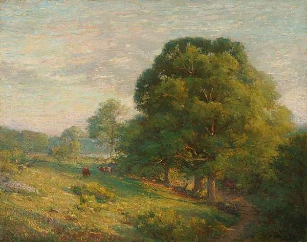 Chandler Winthrop A June Day oil painting image